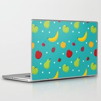 fruits Laptop & iPad Skins featuring fruits by Irina Novikova