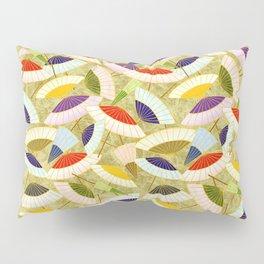 Chinese parasol vintage pattern Pillow Sham