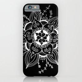 Mandala Invert iPhone Case