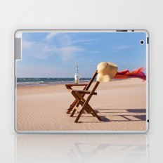 Windy Beach Day Laptop & iPad Skin