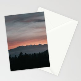 Mountainscape - Landscape and Nature Photography Stationery Cards