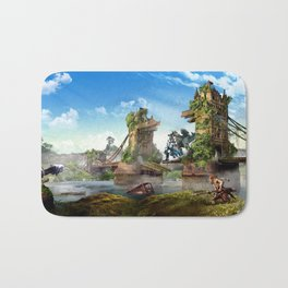 London [Horizon Zero Dawn] Bath Mat
