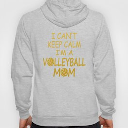 I'M A VOLLEYBALL MOM Hoody