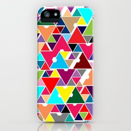 Abstract Invasion iPhone Case
