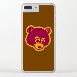 ultra light bear Clear iPhone Case