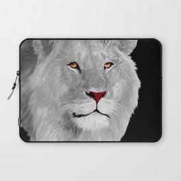 Albino Lion Laptop Sleeve