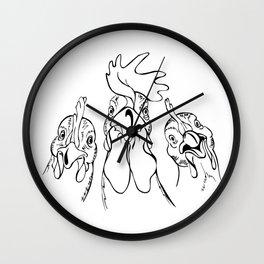 three comrades Wall Clock