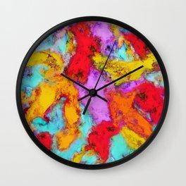 Floating temperatures Wall Clock
