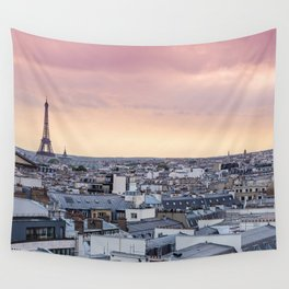 La Vie En Rose Wall Tapestry