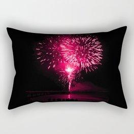 Pink fireworks Rectangular Pillow