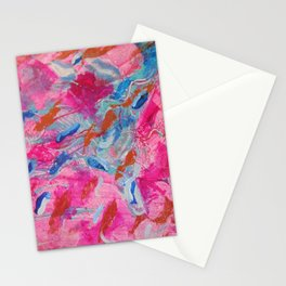 Flowing Feathers by Aeva Meijer Stationery Cards