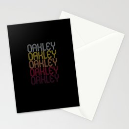 Oakley Name Gift Personalized First Name Stationery Cards
