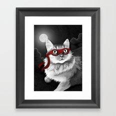 Mr. Meowgi Framed Art Print