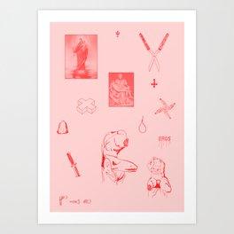 Eros I Art Print