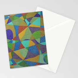 Lines and Curves Stationery Cards