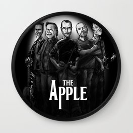 The Apple Band Wall Clock