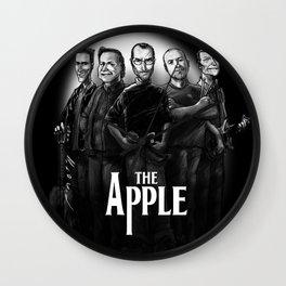 The Apple Band Wall Clock