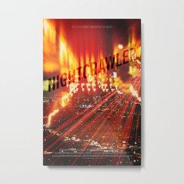 Nightcrawler Metal Print