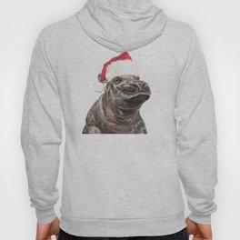 Christmas Baby Hippo Hoody