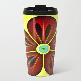 Love Flower Travel Mug