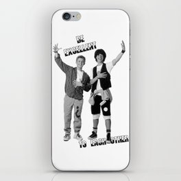 Bill and Ted's Excellent Adventure iPhone Skin