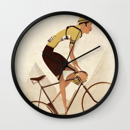 Vintage Racing Road Bike BicycleRoad Cycling Wall Clock