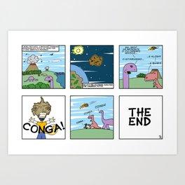 Conga! Art Print