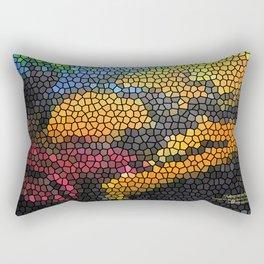 """""""Asleep on the Beach"""" Rectangular Pillow"""