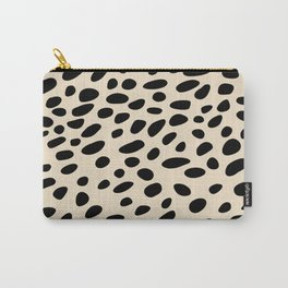Light Brown Cheetah Pattern Carry-All Pouch