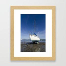 Beaumaris sailing boat Framed Art Print