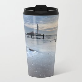 St Marys Lighthouse Travel Mug