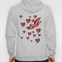 sometimes you have to fly through a sea of broken hearts Hoody