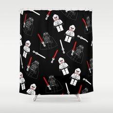 Darth-Black Shower Curtain