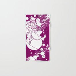 Drawing Moons Hand & Bath Towel