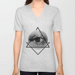 Eye Unisex V-Neck
