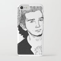 matty healy iPhone & iPod Cases featuring Matty Healy by ☿ cactei ☿