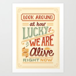 Look Around Art Print