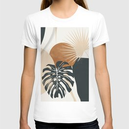 Abstract Art Tropical Leaves 7 T-shirt