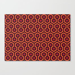 Overlook Hotel Carpet The Shining Canvas Print