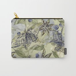 Butterflies and bees Carry-All Pouch