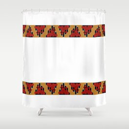 Mid Century Obi Shower Curtain