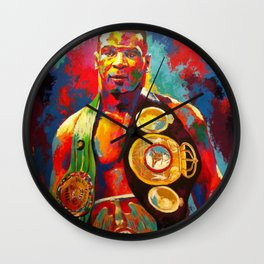 Mike Tyson- Heavyweight Champ Wall Clock