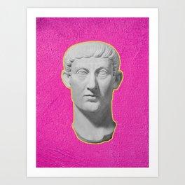 Emperor Constantine Rolling His Eyes Art Print