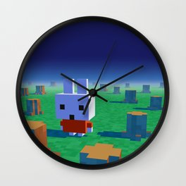 The lost rainforest Wall Clock