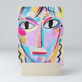 12,000pixel-500dpi - Alexej von Jawlensky - Mystical head, Astonishment - Digital Remastered Edition Mini Art Print