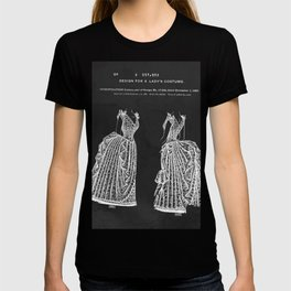 1887 Lady's Dress Patent Print T-shirt