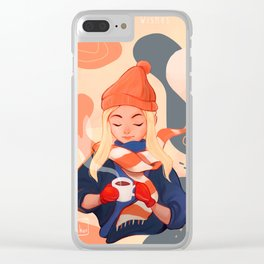 Warmest Wishes Clear iPhone Case