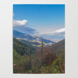 Blue Ridge Peaks Poster
