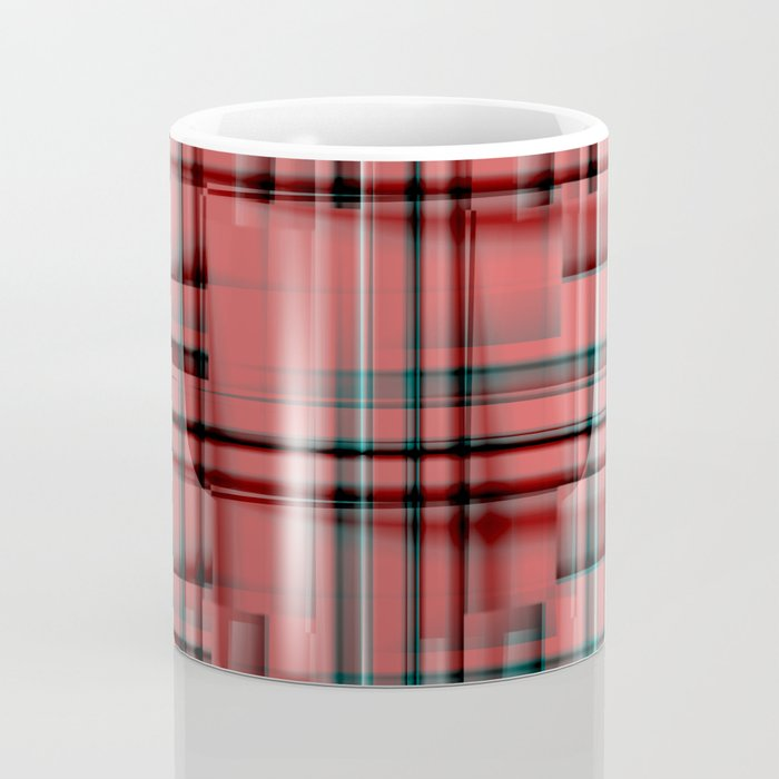 Pattern red 1 Coffee Mug
