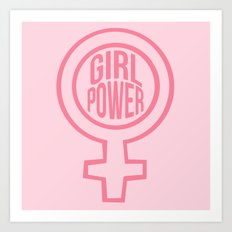 girl power Art Print